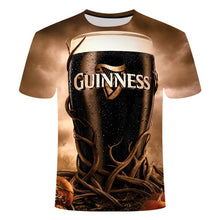 Load image into Gallery viewer, Novelty 3D t shirt cans beer