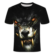 Load image into Gallery viewer, Wolf head T-shirt