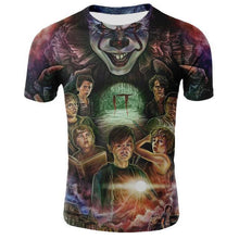 Load image into Gallery viewer, Horror Movie It Penny Wise Clown Joker 3D Print Tshirt Men/Women