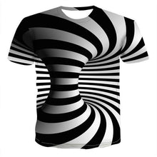 Load image into Gallery viewer, Colorful 3D Printing Short Sleeve Men's T-Shirt