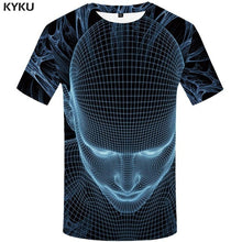 Load image into Gallery viewer, Skull 3D Tees galaxy space