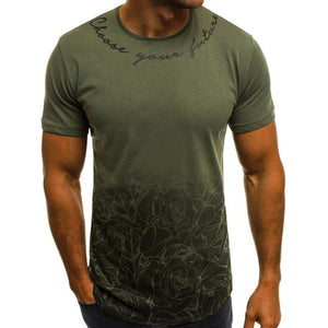 T-shirt fitness camouflage