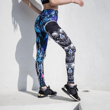 Load image into Gallery viewer, Skull head leggings