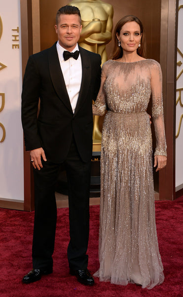 Brad and Angelina Oscars 2014 Red Carpet