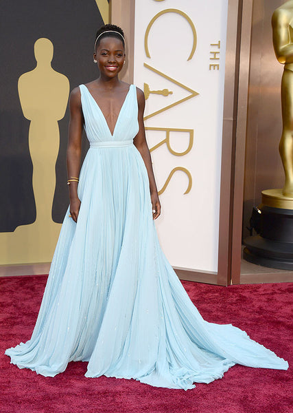 Lupita Nihong'o Oscars 2014 Red Carpet