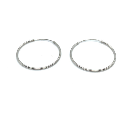 28mm HOOP EARRINGS