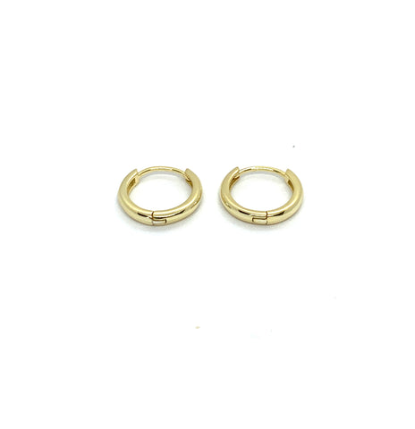 14.5mm SLEEPER HOOP EARRINGS