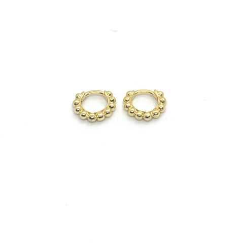7mm BAUBLE HUGGIE  HOOP EARRINGS