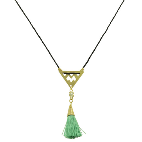 FEATHER DUSTER NECKLACE
