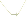 Fashion_Jewellery_Gold_Crystal_Cross_Necklace_First_Sin