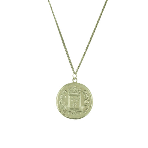 SINGLE COIN NECKLACE