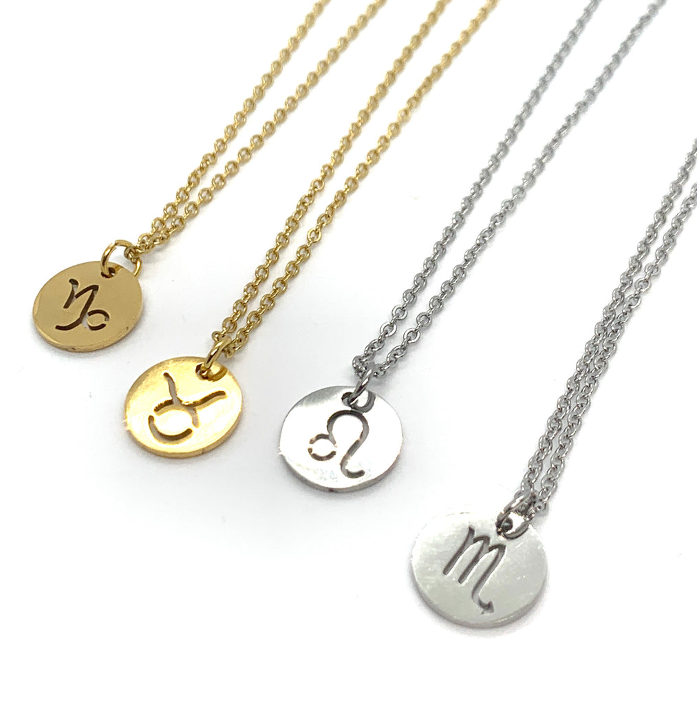 ZODIAC STAR SIGN NECKLACES
