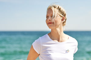 The sustainable sportswear brand vain dane athletic is owned by Tina Søgaard-Pedersen