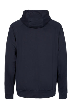 Back side of Vain Dane Athletic Birk hoodie in Tencel
