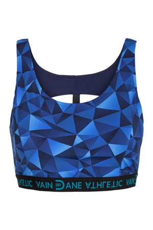 Maggie Ocean Blue - Sports Bra