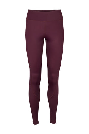 Vain dane athletic's Sigrid leggings with compression and 2 pockets. Made with regenerated nylon from discarded fishing nets.