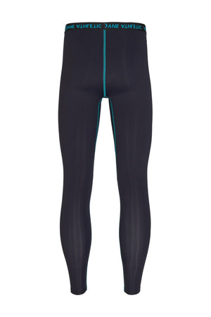 Vain Dane Athletic men's leggings with compression. Made with regenerated nylon from discarded fishing nets.
