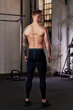 vain dane athletic male sustainable running leggings