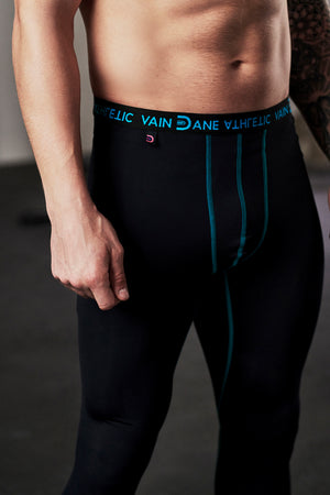 vain dane athletic sustainable running leggings for men