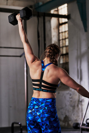 vain dane athletic Freja sports bra made from sustainable textiles