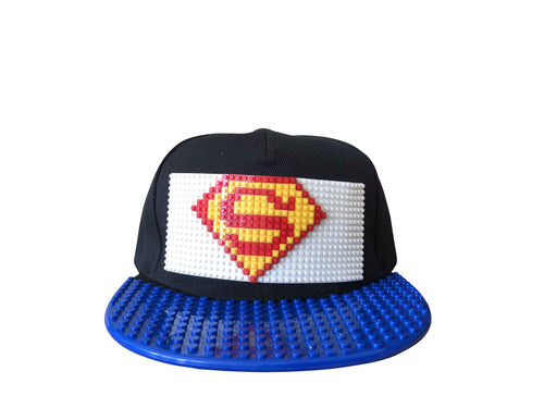 Brick Superman Cap