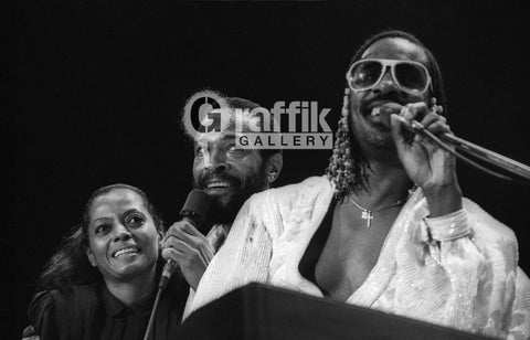 Diana Ross, Marvin Gaye & Stevie Wonder