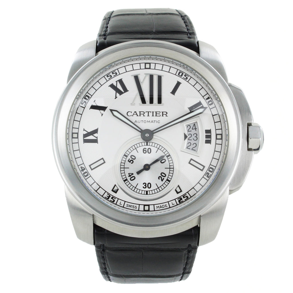 CALIBRE DE CARTIER STAINLESS STEEL WATCH