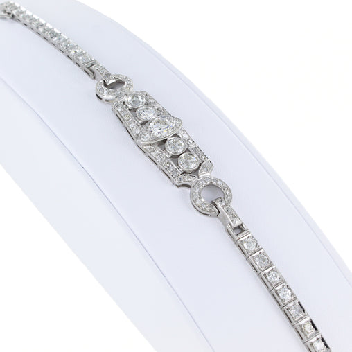 PLATINUM DIAMOND BRACELET