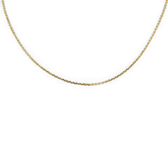 LINK CHAIN 14K YELLOW GOLD 18