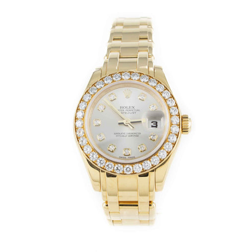 ROLEX LADIES MASTERPIECE 80298 WATCH