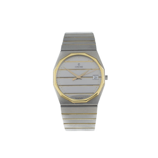 CONCORD MARINER STAINLESS STEEL 2 TONE WATCH