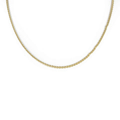 DESIGN LINK CHAIN 14K YELLOW GOLD 24