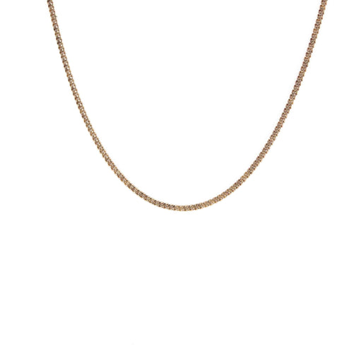 "LINK CHAIN 10K ROSE GOLD 20"" LENGTH"