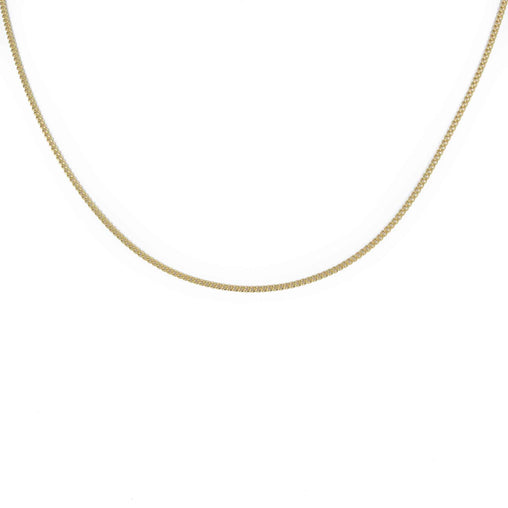 "LINK CHAIN 18K YELLOW GOLD 23"" LENGTH"