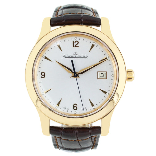 JAEGER LECOULTRE MASTER CONTROL DATE GOLD WATCH