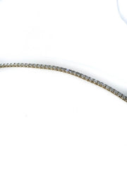 14 KT WHITE TENNIS BRACELET 14K WHITE GOLD 9' LENGTH