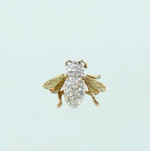 10KT YELLOW GOLD FLY DIAMOND PENDANT 990054522