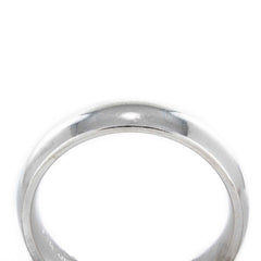 MENS WEDDING BAND 14KT WHITE GOLD SIZE 10