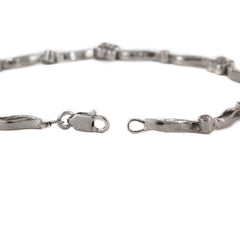 DIAMOND BRACELET 18K WHITE GOLD