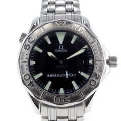 OMEGA SEAMASTER DIVER 300M AMERICA'S CUP LIMITED EDITION WATCH