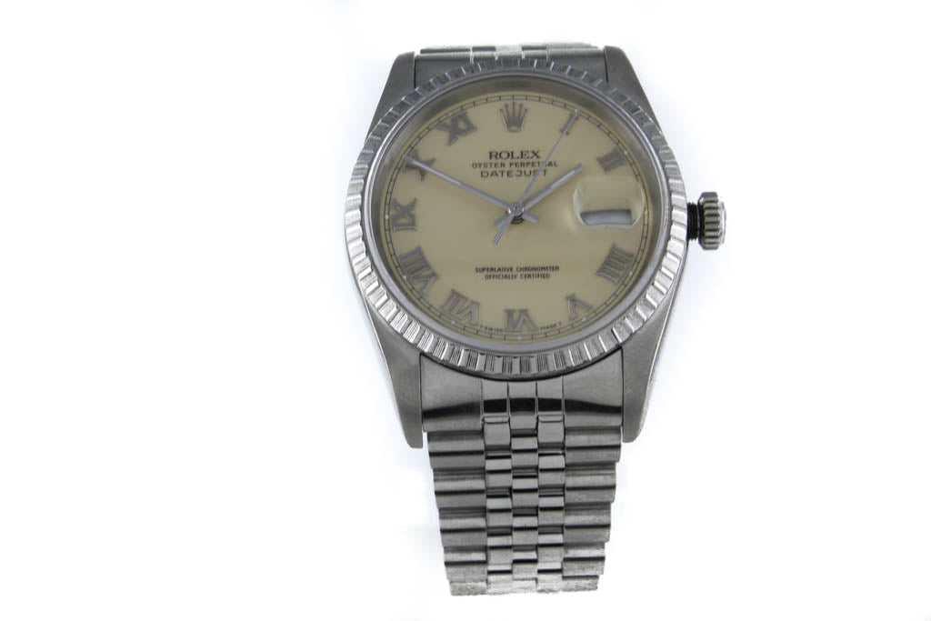 ROLEX GTS DATEJUST 16220 STAINLESS