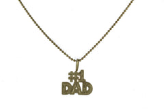 DESIGN BEAD LINK CHAIN 14 KT YELLOW GOLD 20