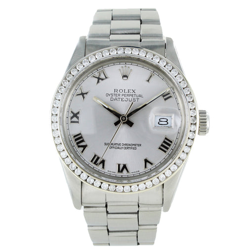 ROLEX OYSTER PERPETUAL DATEJUST 15010 STAINLESS STEEL