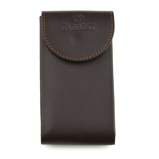 EVEREST BROWN LEATHER WATCH POUCH