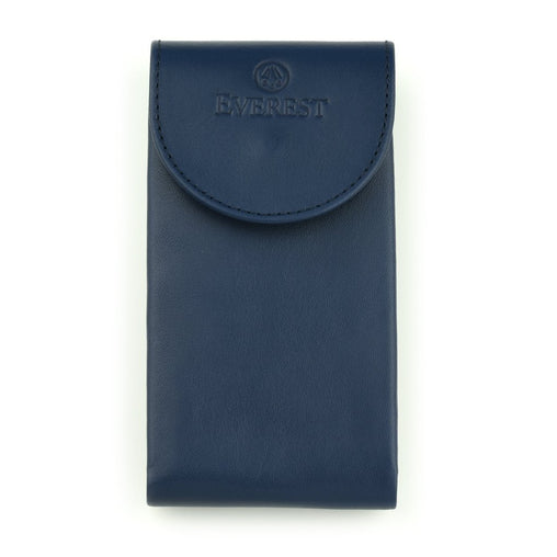 EVEREST BLUE LEATHER WATCH POUCH