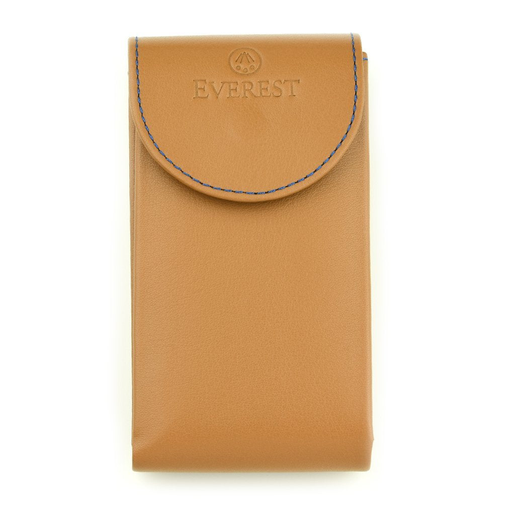 EVEREST TAN LEATHER WATCH POUCH