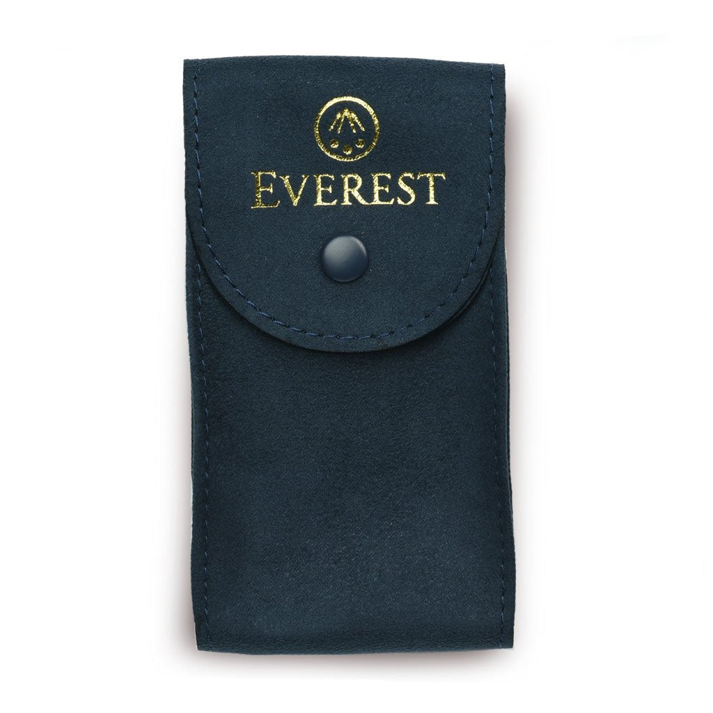 EVEREST BLUE SUEDE WATCH POUCH