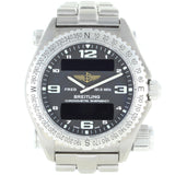 BREITLING EMERGENCY SUPER QUARTZ LCD TITANIUM WATCH E76321
