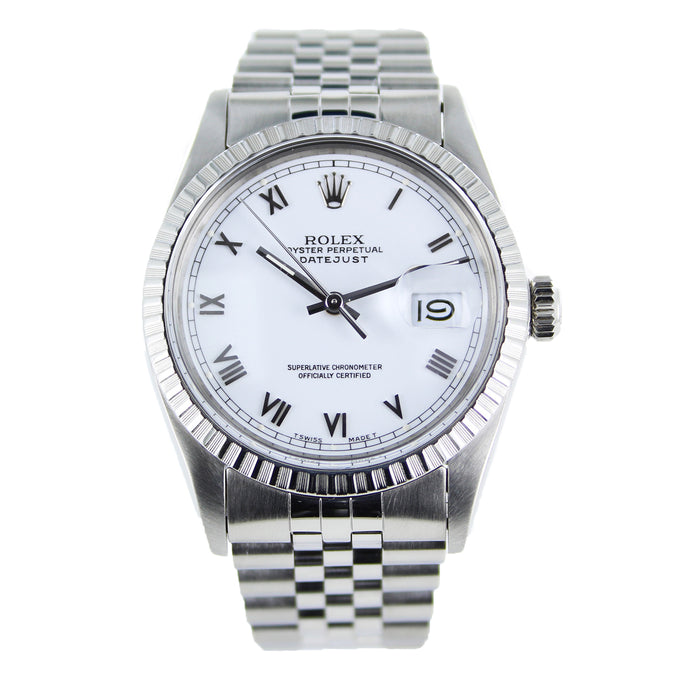 ROLEX OYSTER PERPETUAL DATEJUST 16030 STAINLESS STEEL