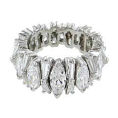 LADIES PLATINUM DIAMONDS ETERNITY BAND